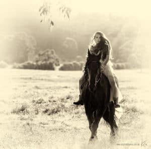 horse portrait photography art photographer Sydney Kira