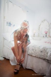 Sydney vintage boudoir photographer