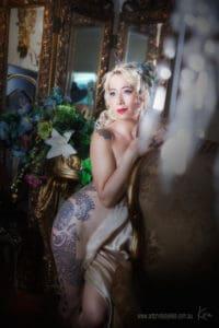 Sydney vintage boudoir photography