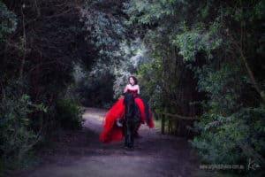 fantasy art portrait photography Kira
