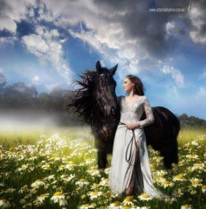 fine art fantasy portrait photography Sydney Kira