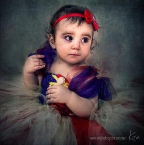 child portrait photography Kira