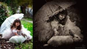 fantasy portrait photography kira fine art