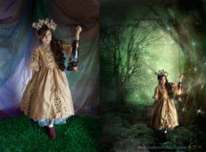 fine art composite fantasy portrait photography kira
