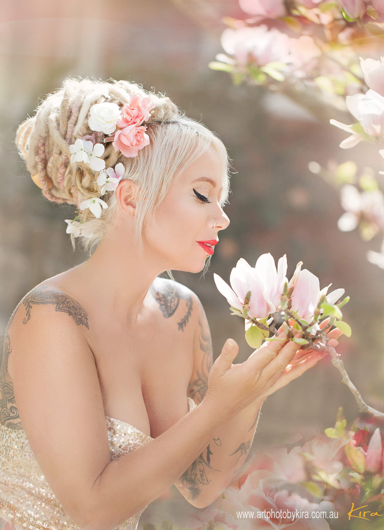 romantic portrait photography